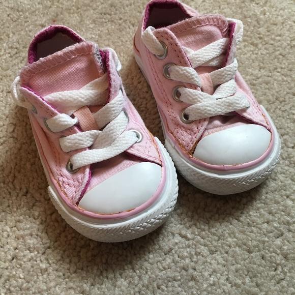 32e77eacdbfa Converse Other - Light Pink Converse Toddler Size 3